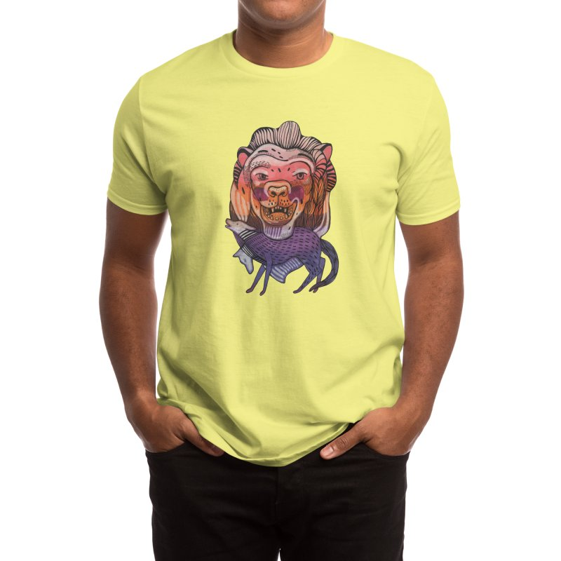 Protect Men's T-Shirt by Mica Still / Collection of Giggles