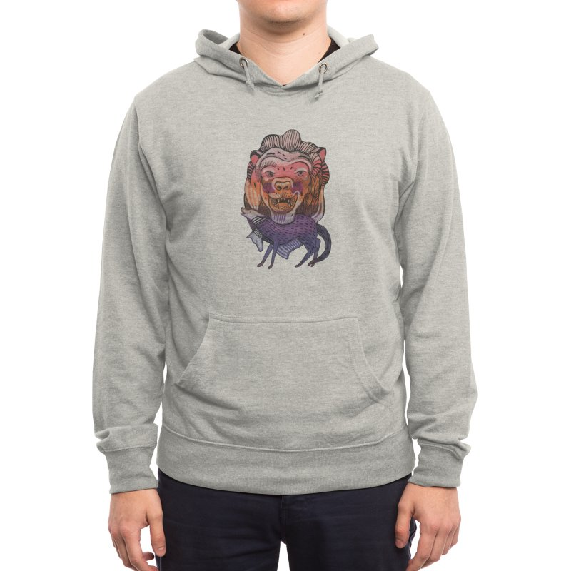 Protect Men's Pullover Hoody by Mica Still / Collection of Giggles
