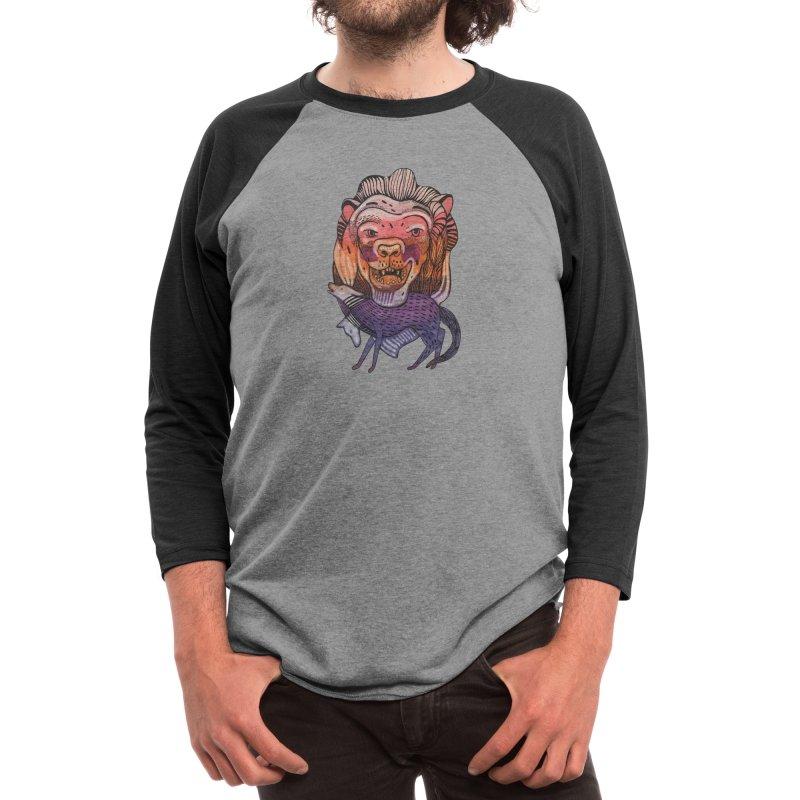 Protect Men's Longsleeve T-Shirt by Mica Still / Collection of Giggles