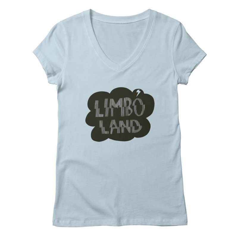 LIMBO LAND 2 Women's V-Neck by Mica Still / Collection of Giggles