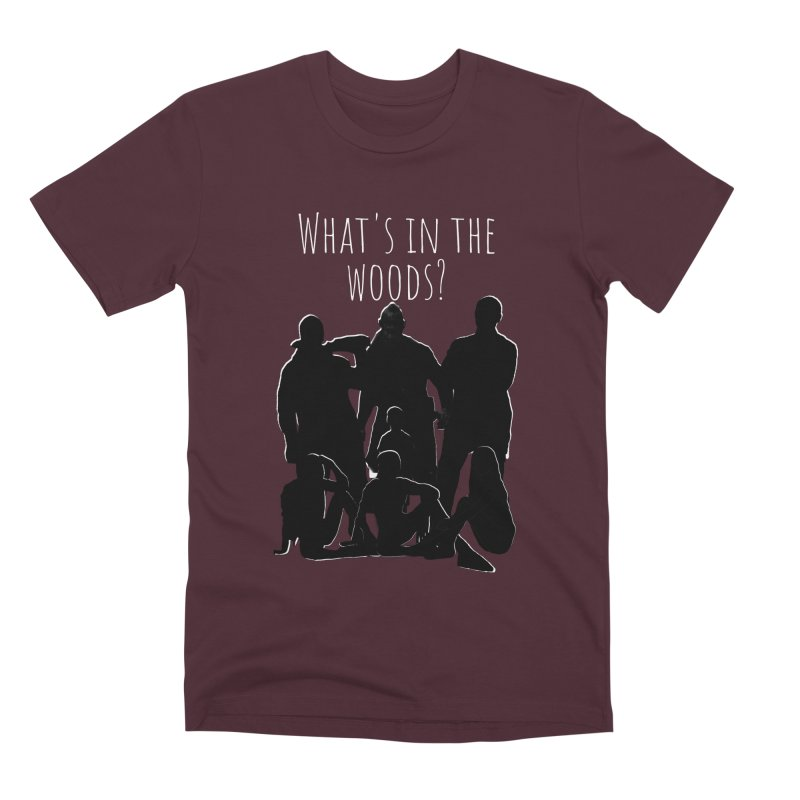What's In The Woods? Characters Men's Premium T-Shirt by Michael Dominguez-Beddome's Shop