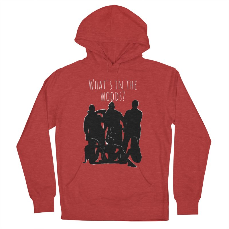What's In The Woods? Characters Men's Pullover Hoody by Michael Dominguez-Beddome's Shop
