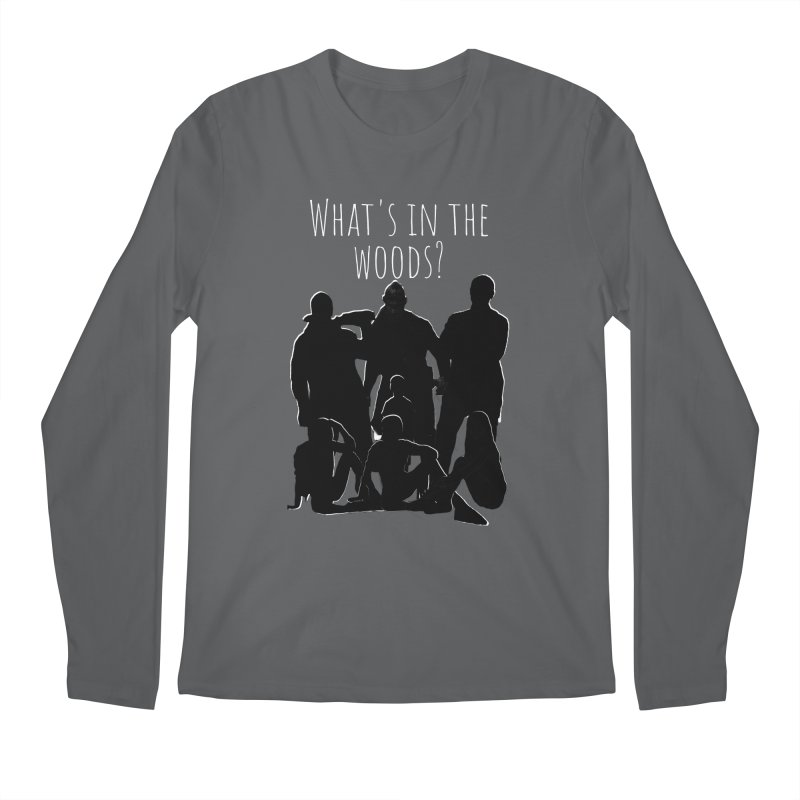 What's In The Woods? Characters Men's Longsleeve T-Shirt by Michael Dominguez-Beddome's Shop