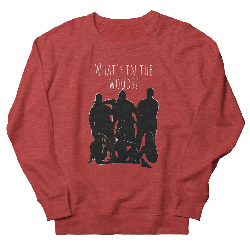 What's In The Woods? Characters Men's Sweatshirt by Michael Dominguez-Beddome's Shop