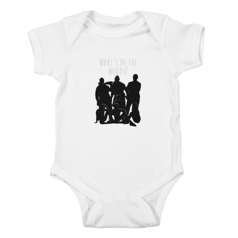 What's In The Woods? Characters Kids Baby Bodysuit by Michael Dominguez-Beddome's Shop