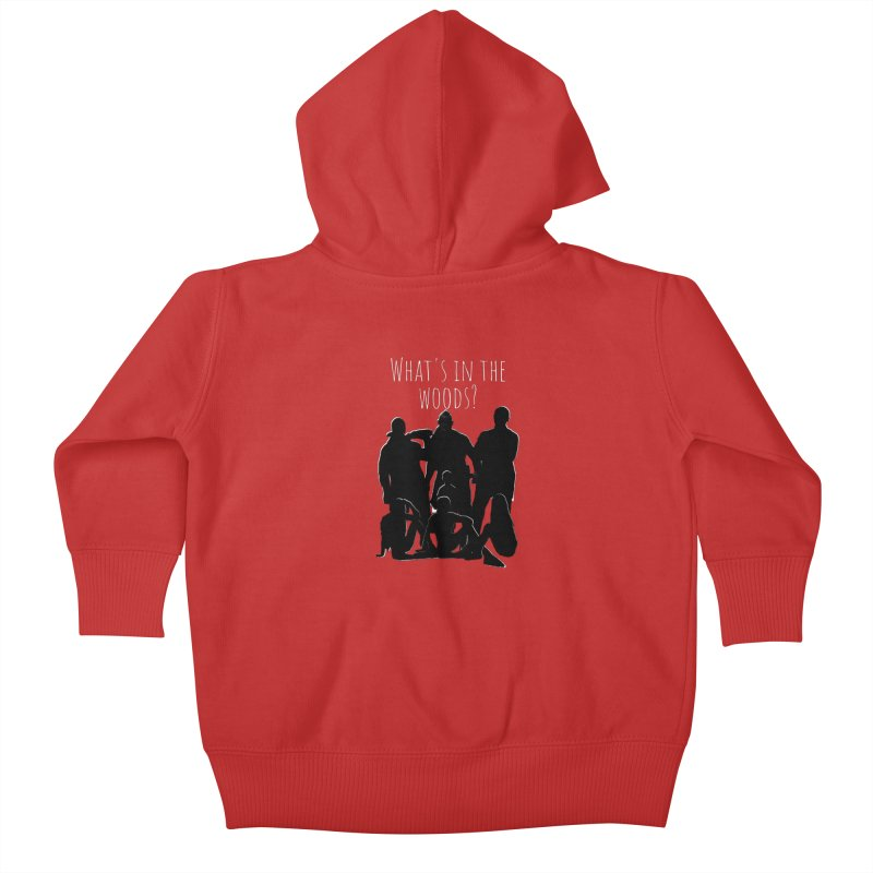 What's In The Woods? Characters Kids Baby Zip-Up Hoody by Michael Dominguez-Beddome's Shop