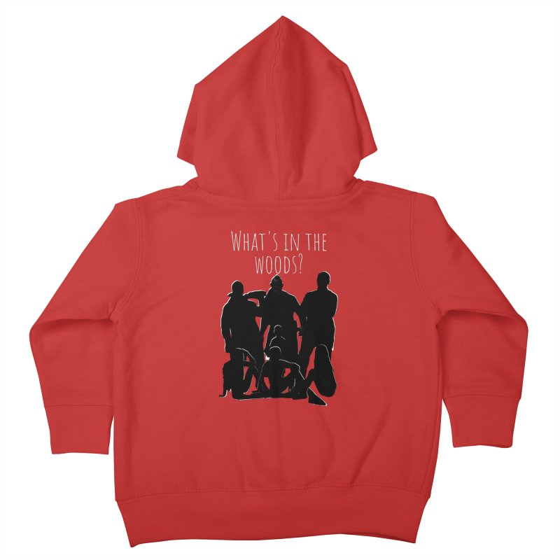 What's In The Woods? Characters Kids Toddler Zip-Up Hoody by Michael Dominguez-Beddome's Shop