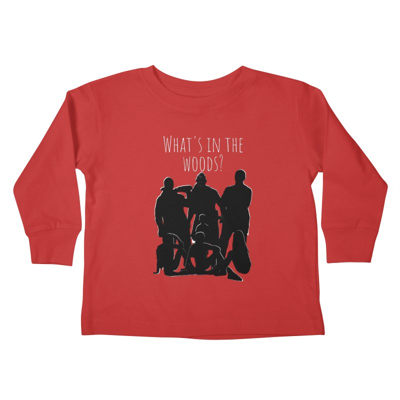 What's In The Woods? Characters Kids Toddler Longsleeve T-Shirt by Michael Dominguez-Beddome's Shop