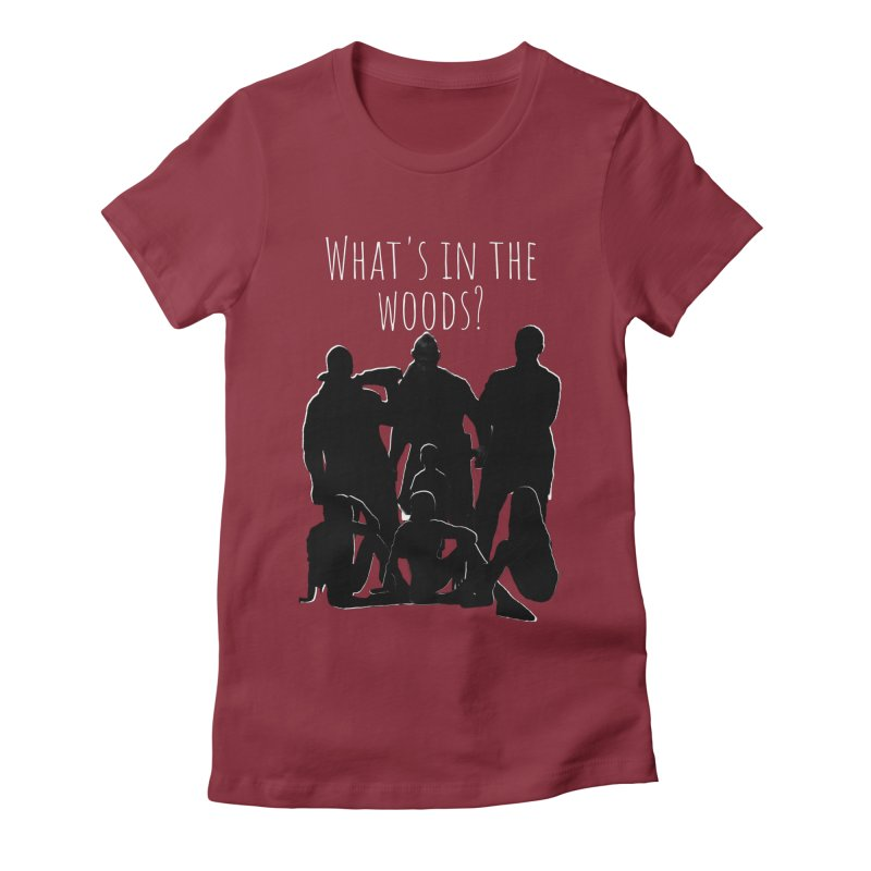 What's In The Woods? Characters Women's T-Shirt by Michael Dominguez-Beddome's Shop