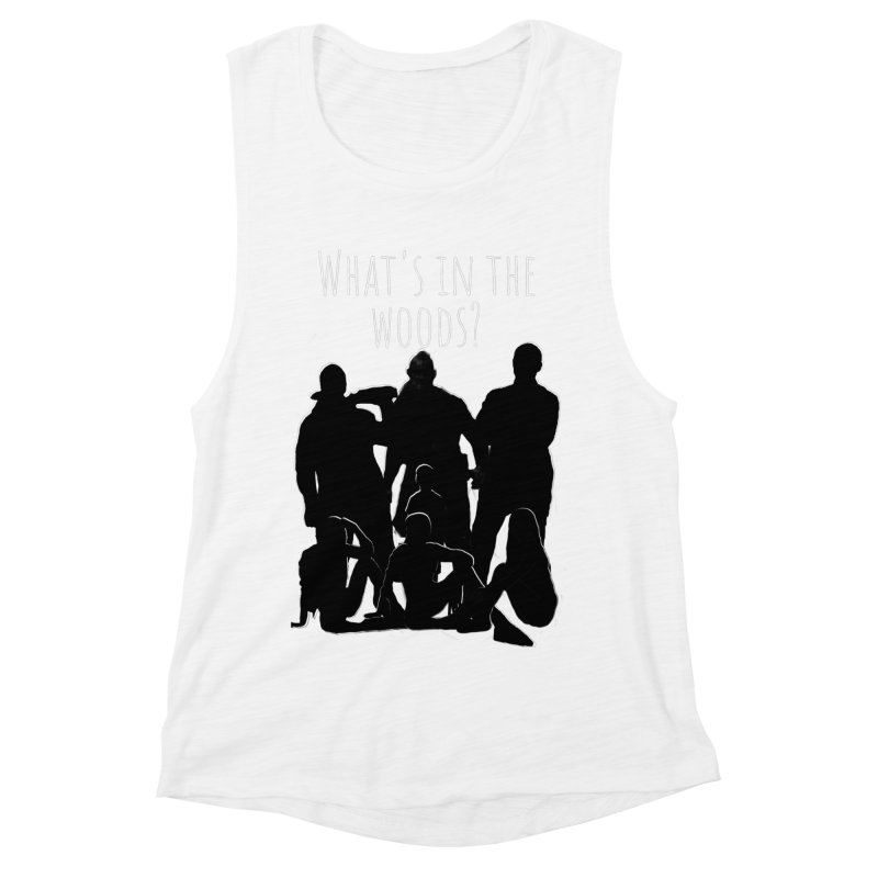 What's In The Woods? Characters Women's Muscle Tank by Michael Dominguez-Beddome's Shop