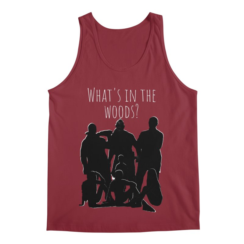 What's In The Woods? Characters Men's Tank by Michael Dominguez-Beddome's Shop