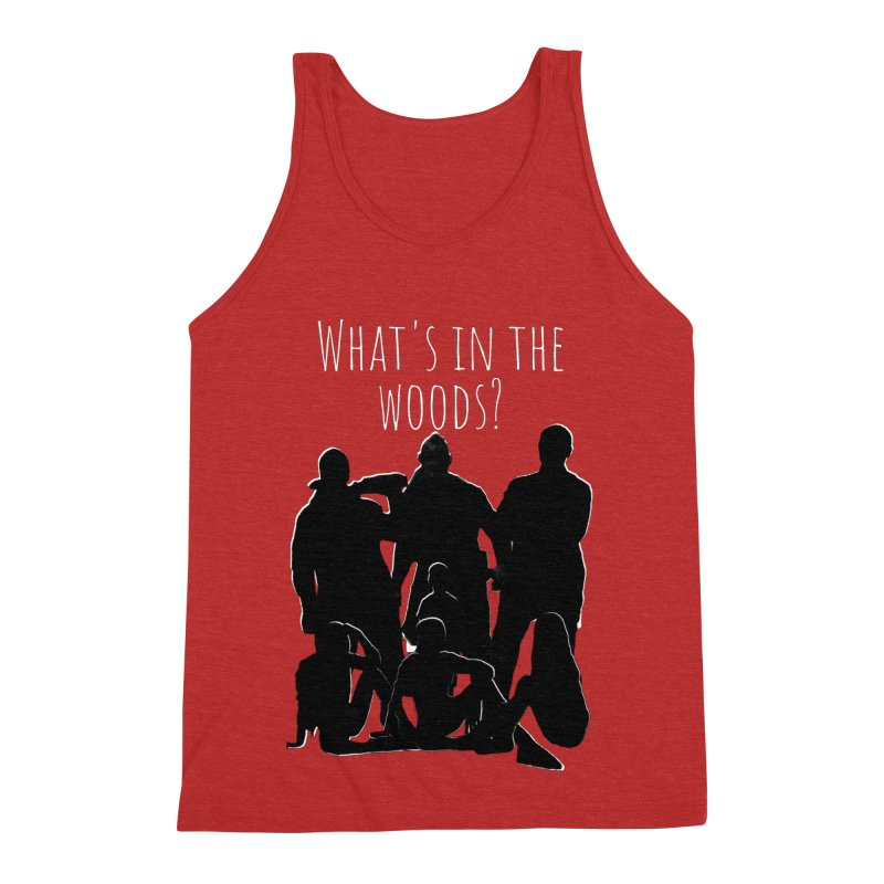 What's In The Woods? Characters Men's Triblend Tank by Michael Dominguez-Beddome's Shop