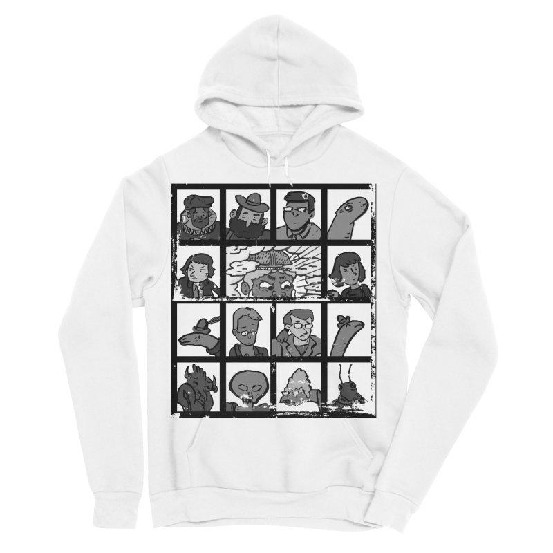 Class Photos (Black & White) Men's Sponge Fleece Pullover Hoody by Michael Dominguez-Beddome's Shop