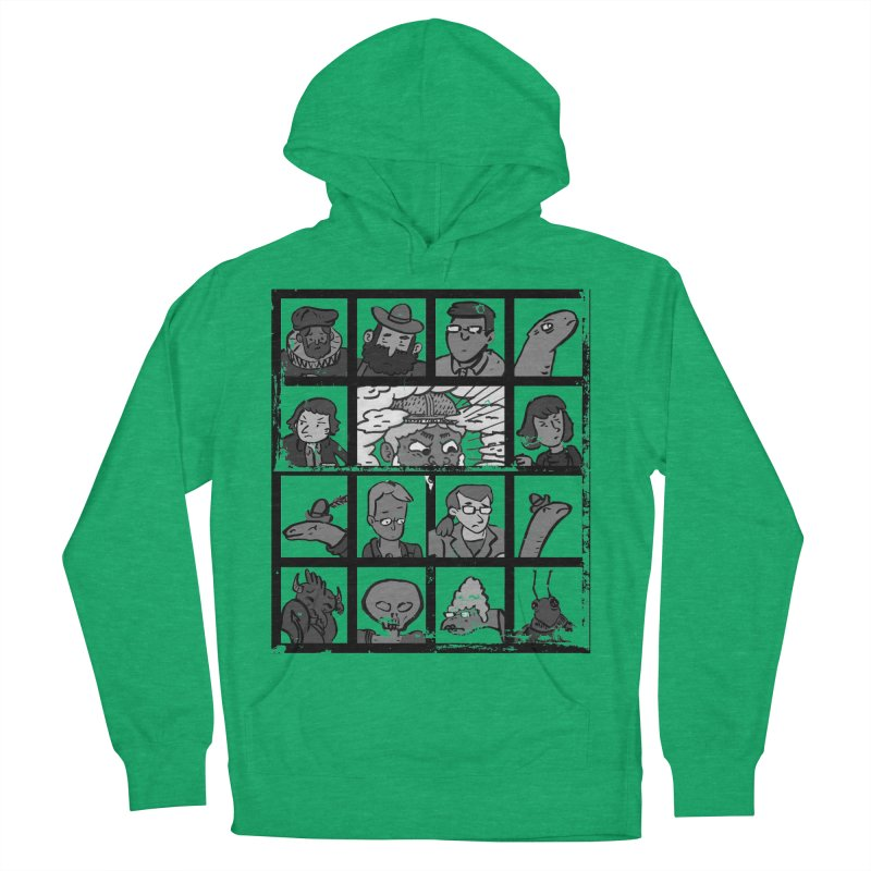 Class Photos (Black & White) Women's French Terry Pullover Hoody by Michael Dominguez-Beddome's Shop