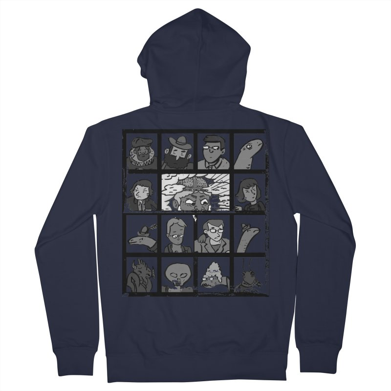 Class Photos (Black & White) Women's French Terry Zip-Up Hoody by Michael Dominguez-Beddome's Shop
