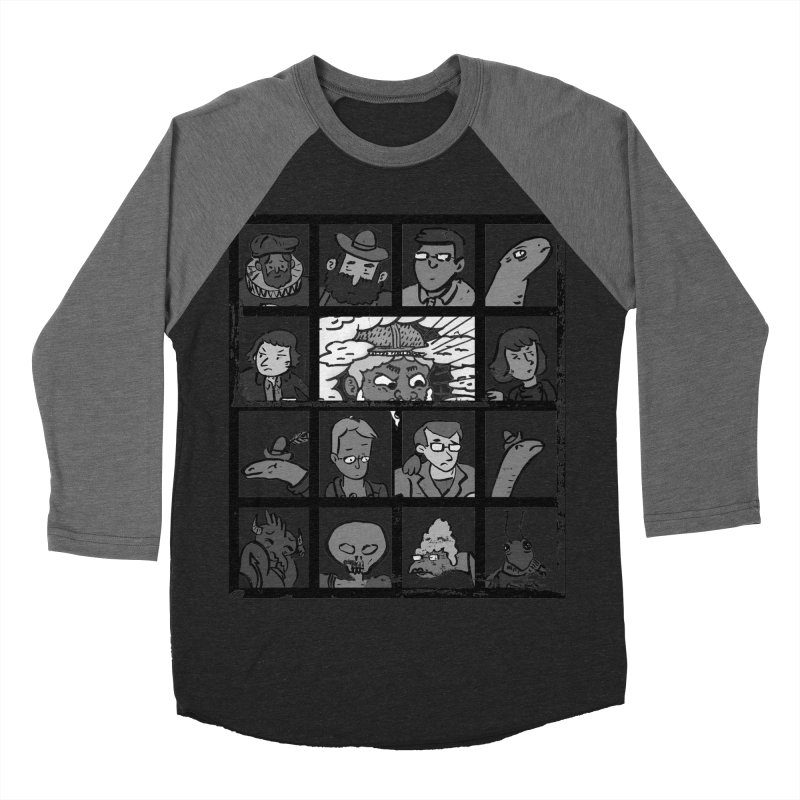 Class Photos (Black & White) Women's Baseball Triblend Longsleeve T-Shirt by Michael Dominguez-Beddome's Shop