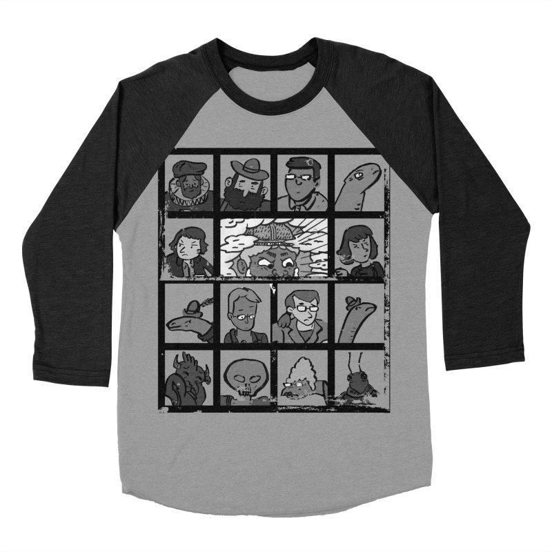 Class Photos (Black & White) Men's Baseball Triblend Longsleeve T-Shirt by Michael Dominguez-Beddome's Shop
