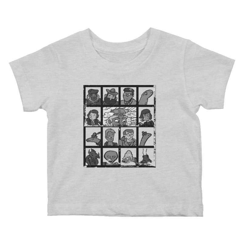 Class Photos (Black & White) Kids Baby T-Shirt by Michael Dominguez-Beddome's Shop