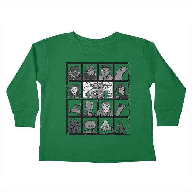 Class Photos (Black & White) Kids Toddler Longsleeve T-Shirt by Michael Dominguez-Beddome's Shop
