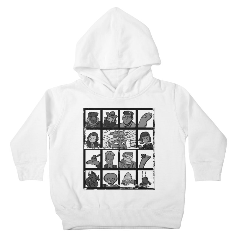 Class Photos (Black & White) Kids Toddler Pullover Hoody by Michael Dominguez-Beddome's Shop