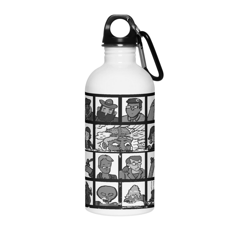 Class Photos (Black & White) Accessories Water Bottle by Michael Dominguez-Beddome's Shop