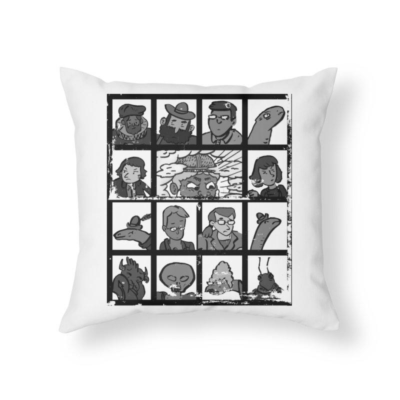 Class Photos (Black & White) Home Throw Pillow by Michael Dominguez-Beddome's Shop