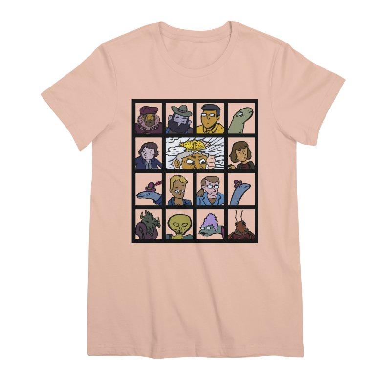 Class Photos (Color) Women's Premium T-Shirt by Michael Dominguez-Beddome's Shop