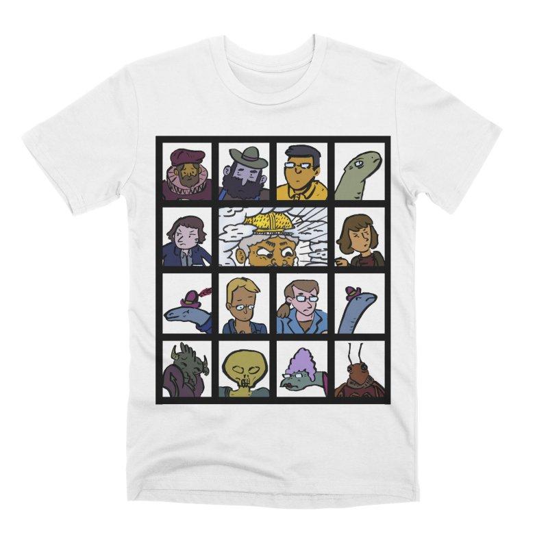 Class Photos (Color) Men's Premium T-Shirt by Michael Dominguez-Beddome's Shop