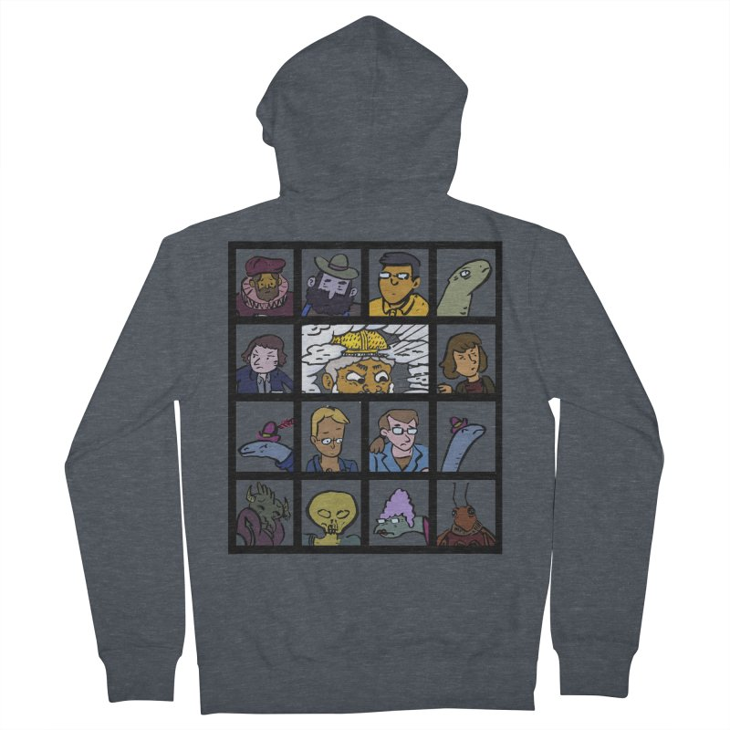 Class Photos (Color) Women's French Terry Zip-Up Hoody by Michael Dominguez-Beddome's Shop