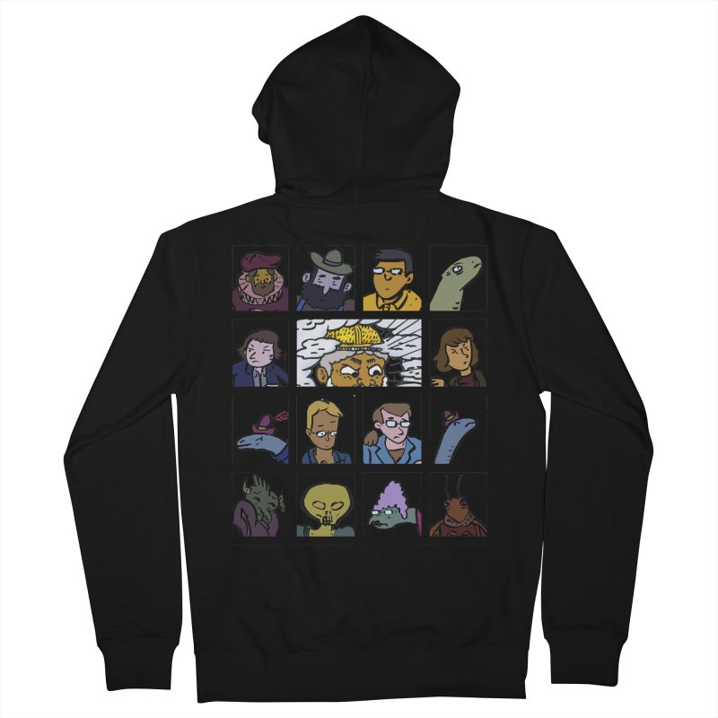 Class Photos (Color) Men's French Terry Zip-Up Hoody by Michael Dominguez-Beddome's Shop