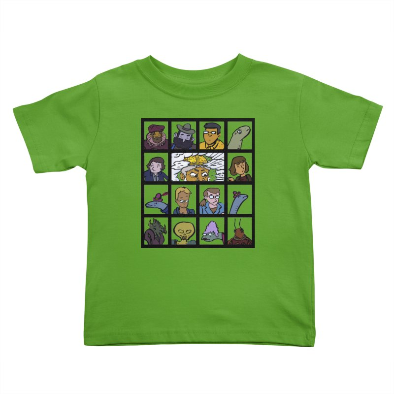 Class Photos (Color) Kids Toddler T-Shirt by Michael Dominguez-Beddome's Shop