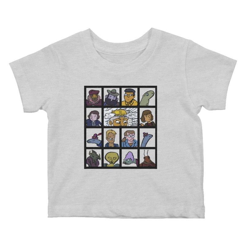 Class Photos (Color) Kids Baby T-Shirt by Michael Dominguez-Beddome's Shop