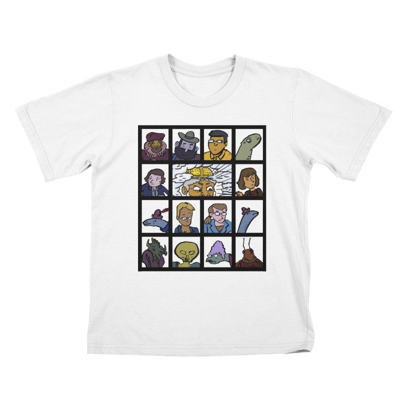 Class Photos (Color) Kids T-Shirt by Michael Dominguez-Beddome's Shop