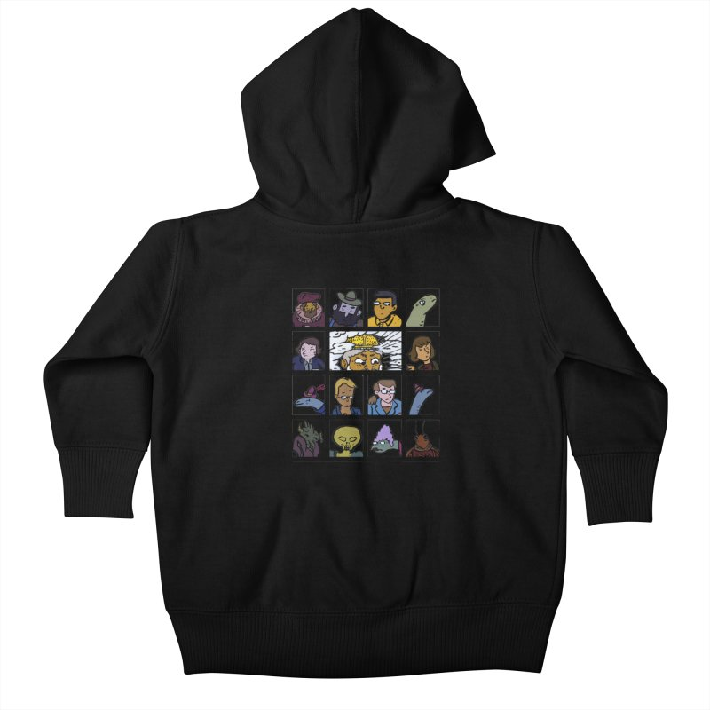 Class Photos (Color) Kids Baby Zip-Up Hoody by Michael Dominguez-Beddome's Shop