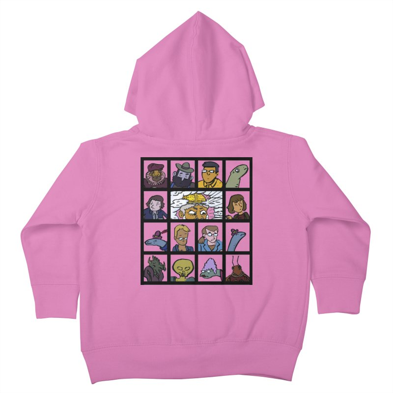 Class Photos (Color) Kids Toddler Zip-Up Hoody by Michael Dominguez-Beddome's Shop