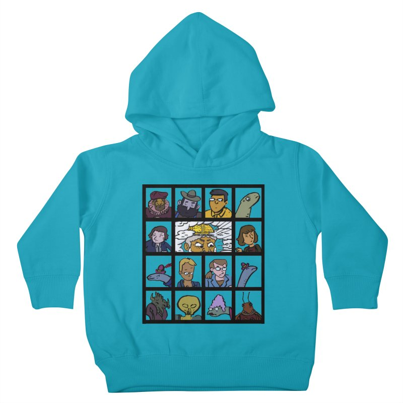 Class Photos (Color) Kids Toddler Pullover Hoody by Michael Dominguez-Beddome's Shop