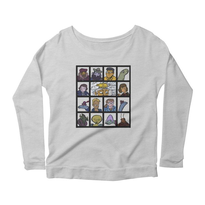 Class Photos (Color) Women's Scoop Neck Longsleeve T-Shirt by Michael Dominguez-Beddome's Shop