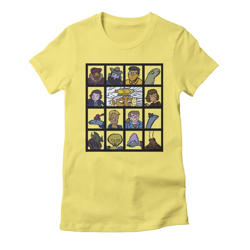 Class Photos (Color) Women's Fitted T-Shirt by Michael Dominguez-Beddome's Shop