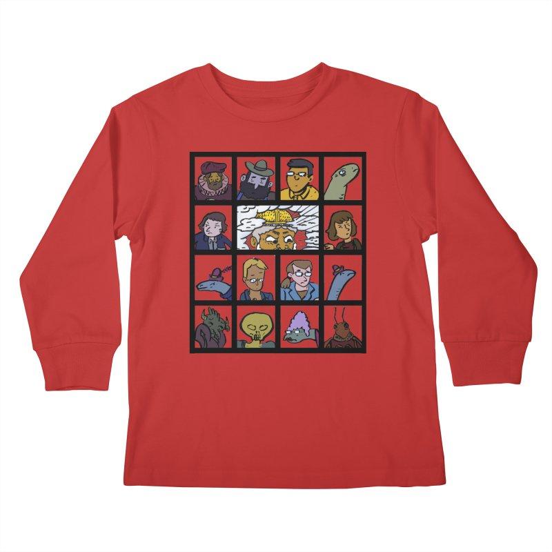 Class Photos (Color) Kids Longsleeve T-Shirt by Michael Dominguez-Beddome's Shop