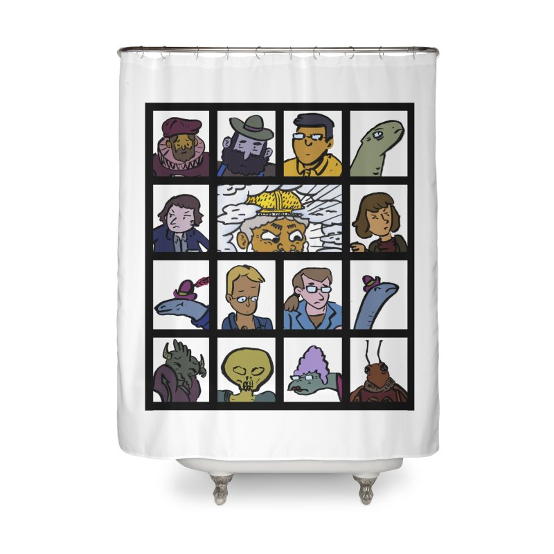 Class Photos (Color) Home Shower Curtain by Michael Dominguez-Beddome's Shop