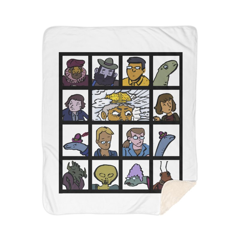 Class Photos (Color) Home Sherpa Blanket Blanket by Michael Dominguez-Beddome's Shop