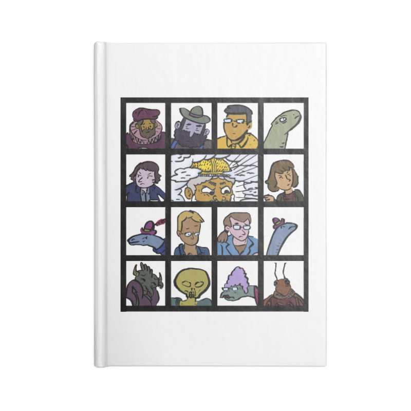 Class Photos (Color) Accessories Lined Journal Notebook by Michael Dominguez-Beddome's Shop