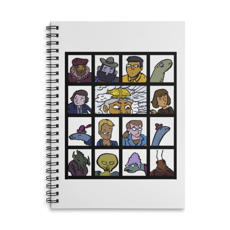 Class Photos (Color) Accessories Lined Spiral Notebook by Michael Dominguez-Beddome's Shop