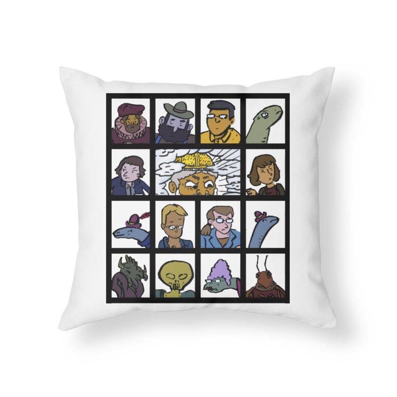 Class Photos (Color) Home Throw Pillow by Michael Dominguez-Beddome's Shop