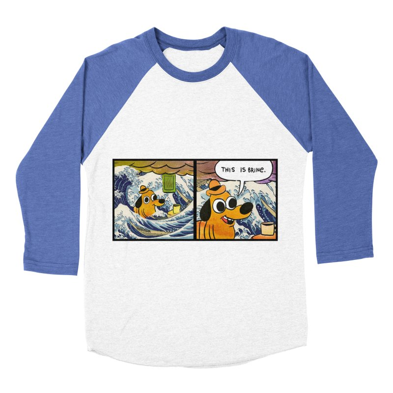 This Is Brine Men's Baseball Triblend Longsleeve T-Shirt by Michael Dominguez-Beddome's Shop