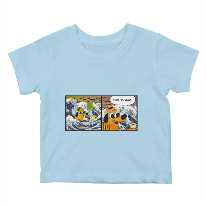 This Is Brine Kids Baby T-Shirt by Michael Dominguez-Beddome's Shop