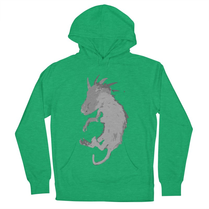 La Blancocabra Women's French Terry Pullover Hoody by Michael Dominguez-Beddome's Shop