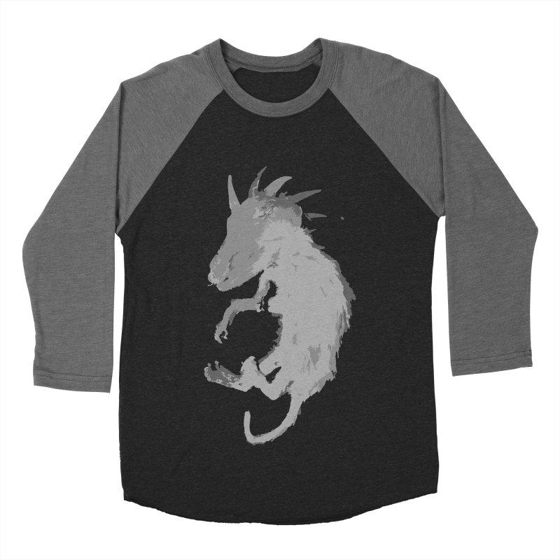 La Blancocabra Men's Baseball Triblend Longsleeve T-Shirt by Michael Dominguez-Beddome's Shop