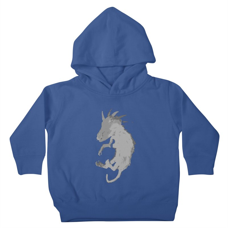 La Blancocabra Kids Toddler Pullover Hoody by Michael Dominguez-Beddome's Shop