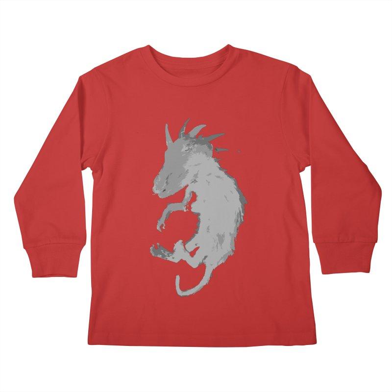 La Blancocabra Kids Longsleeve T-Shirt by Michael Dominguez-Beddome's Shop